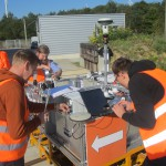 Anchor tests in Aachen, Germany
